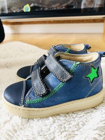Pantofi piele naturala Falcotto Naturino marimea 22