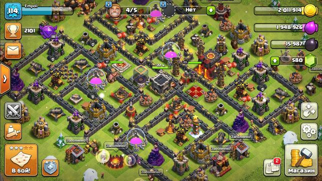 Clash of clans тх 10