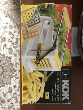 Устройство для резки картофеля фри dekok
