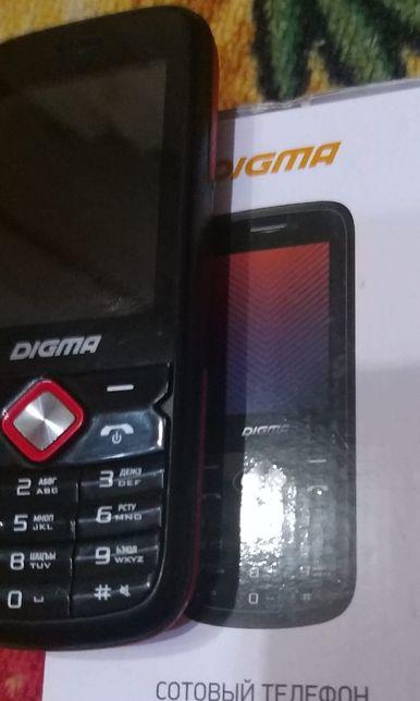 Новый в упаковке моб тел с 2 сим картами,DIGMA pro.