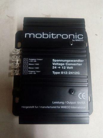 Адаптер преобразувател от 24на 12волта 8 ампера