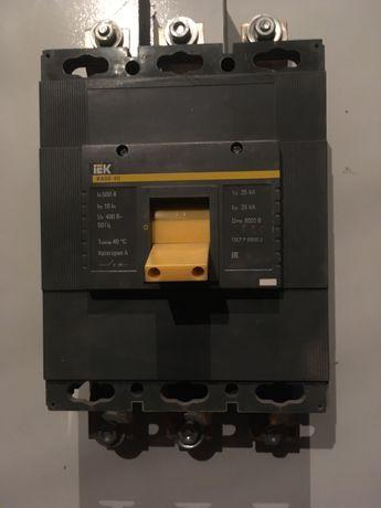 Автомат 500А ВА88-40+ШРС