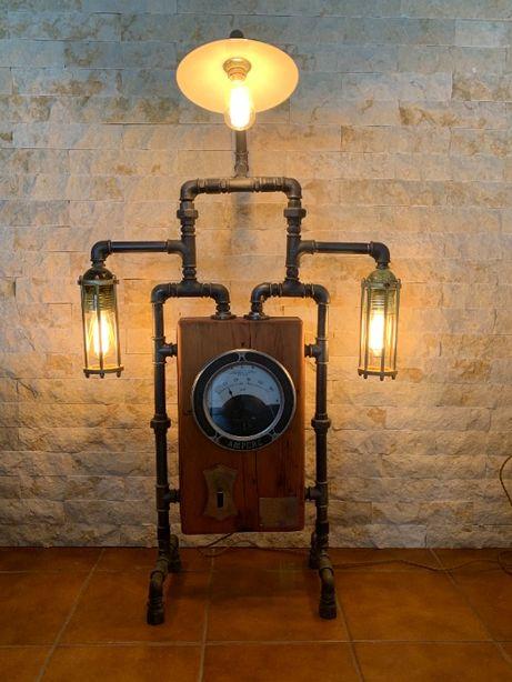 Lampa Industriala Steampunk