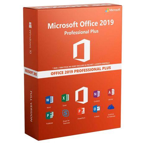 Microsoft Office 2019 Pro plus 32/64 Bit Licenta Electronica + Factura