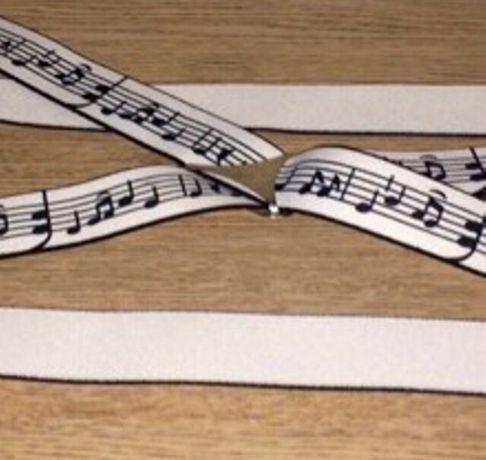 Bretele note muzicale Superbe
