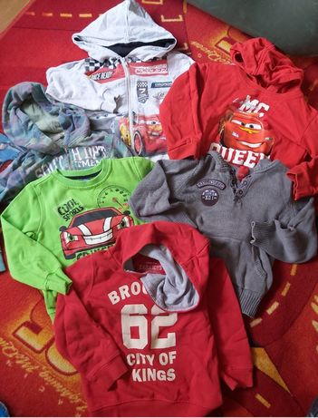 Lot Hanorace,bluze,băieți98- 104-110