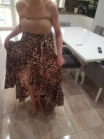 Djofra дълг рокля