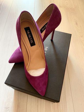 Pantofi piele Musette, marimea 37, transport curier inclus