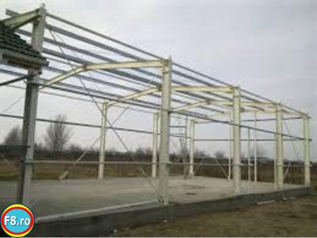 Hala Metalica Ideala pentru Service auto, depozit, garaj, Spalatorie Oarda - imagine 1