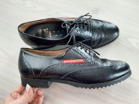 Pantofi oxford piele 37 dama încălțăminte casual