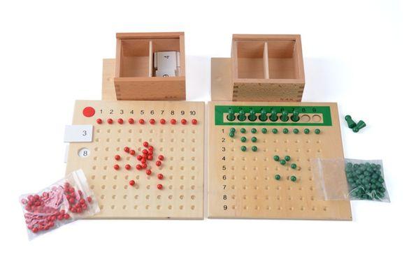 Комплект Табла за умножение и деление Монтесори