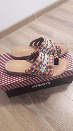 Saboti/sandale din piele naturala marimea 36