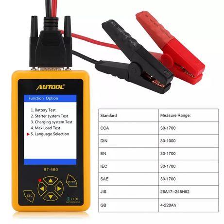 Tester profesional de baterii Autool BT 460