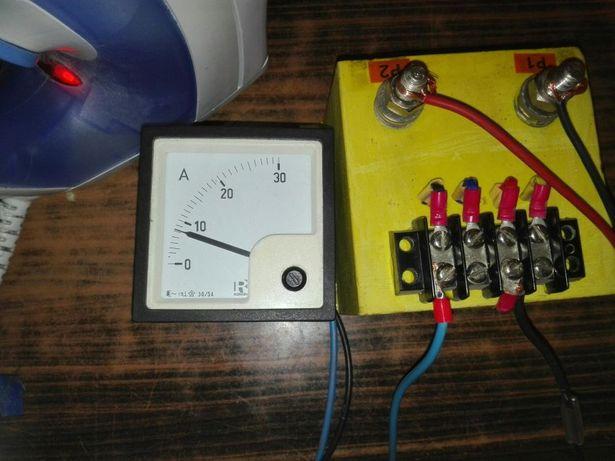 Transformator Curent pentru ampermetru 20-30-40 A shunt