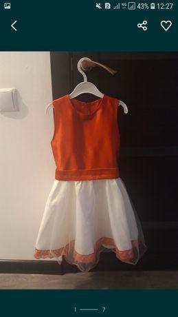 Платье детское на 5-6 лет