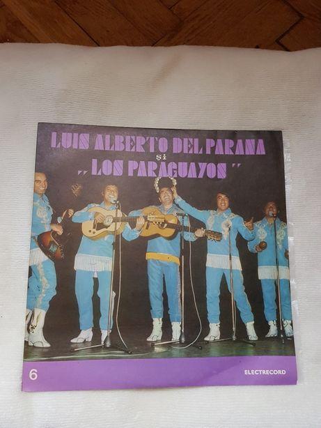 """Disc Pick-up Luis Alberto Del Parana si ,, Los Paraguayos """""""
