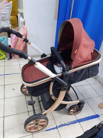Детские коляски несколько видов