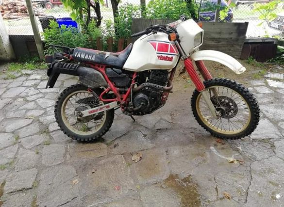 Yamaha xt/tt 600 на части