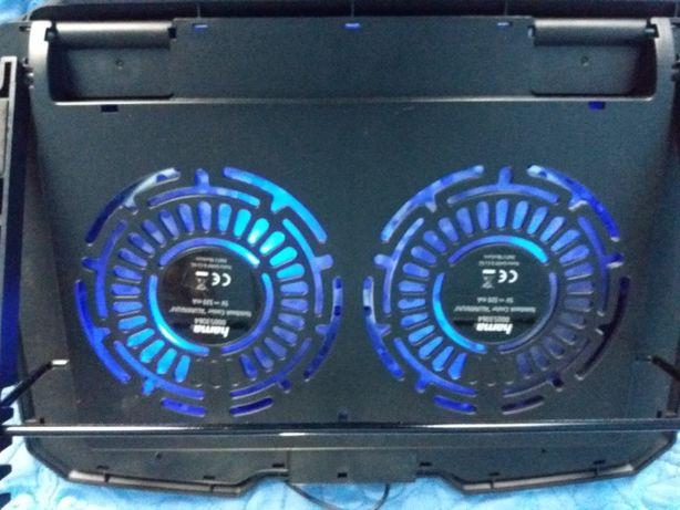 Cooler racitor laptop cu 2 ventilatoare