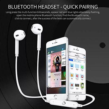 -60% Безжични Bluetooth Слушалки с микрофон тип airpods handsfree mp3