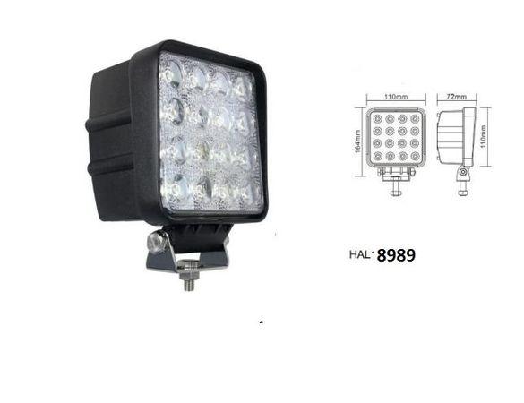 ЛЕД Мощен диоден фар,лампа, прожектор, халоген