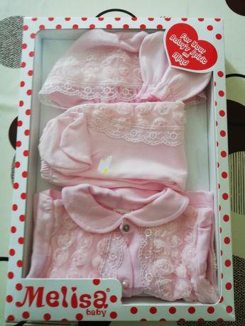 Set nou născut fetițe 0-3 luni