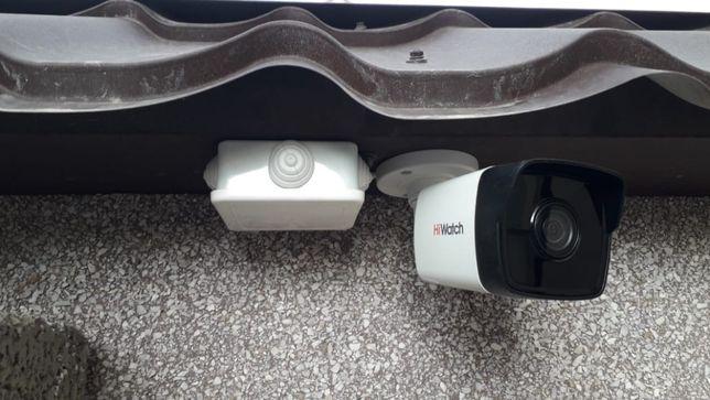 Установка камера видеонаблюдение