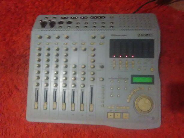 mixer audio TASCAM /2 pick up UNITRA si ZIPHONA NOVA DECK