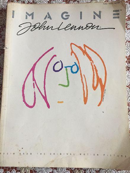Джон Ленън - книга с ноти, акорди и текст