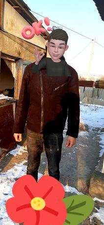 Дублёнка куртка мужская зима стильная теплая