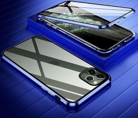 Стъклен  магнитен кейс - протектор за Iphone 11