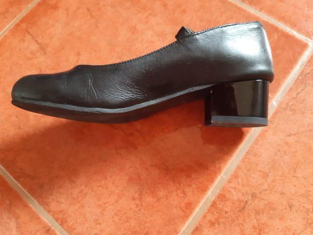 Pantofi dansuri pt copii, (din piele)