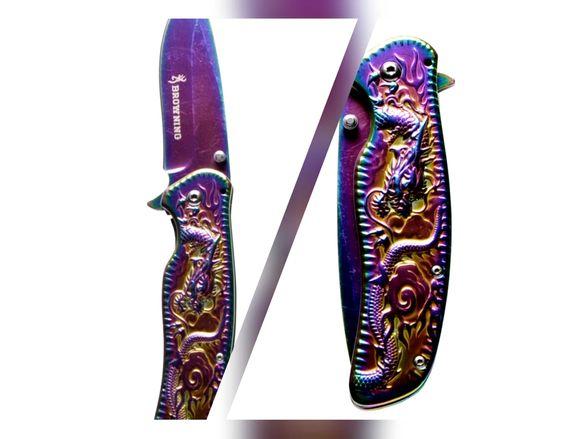 Джобен нож с дракон