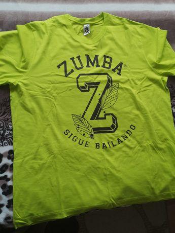 Zumba мъжка тениска