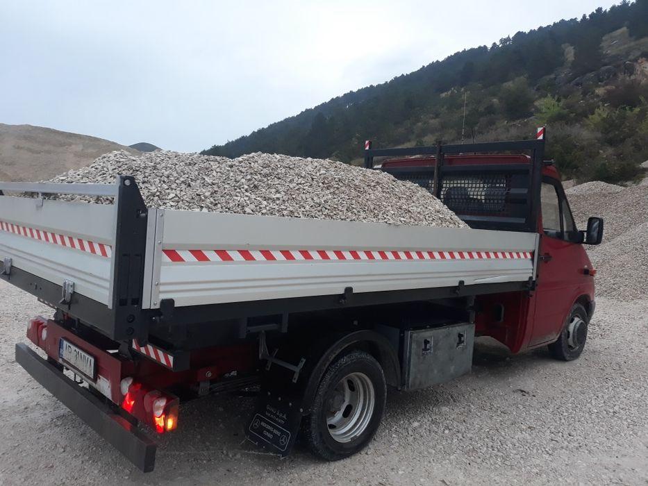 Transport sort,balastru,nisip cu camioneta de 3.5t Alba Iulia - imagine 1