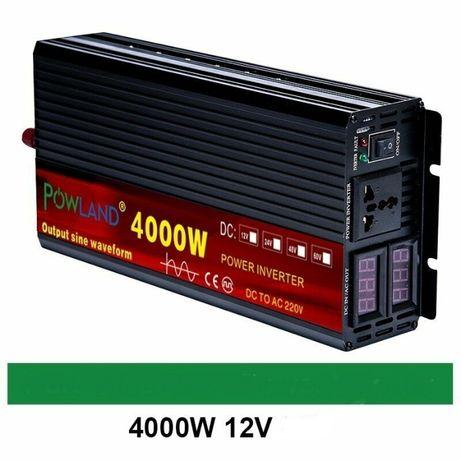 INVERTOR 4000W sinusoida pura, 12V