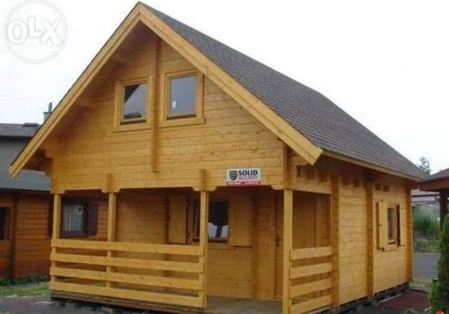 Vând case din lemn, de vacante cabane