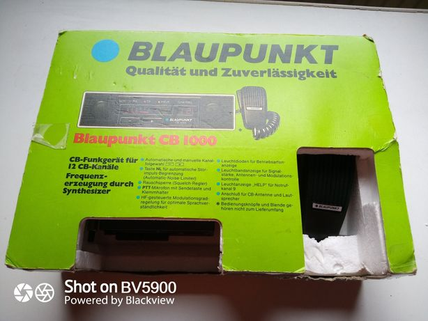 Statie emisie receptie vintage Blaupunkt CB 1000