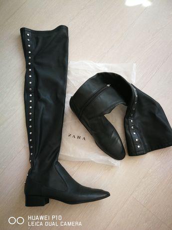 Zara дамски чизми уникални 38 номер маратонки Pepe jeans