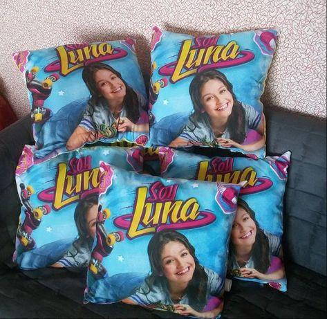 Възглавница за гушкане одеало Soy Luna мешка раница за спорт Сой Луна