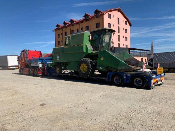 Transport agabaritic Italia Romania Transport gabariti depasit