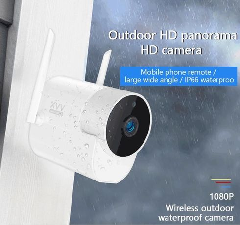 Camera Xiaomi Xiaovv Exterior IP 1080P Mijia APP Xiaovv