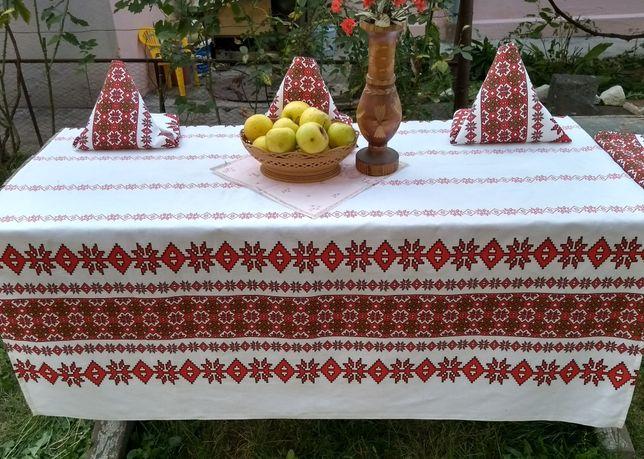 Fata de masa NOUA bumbac Artizanat Romania traditional Restaurante
