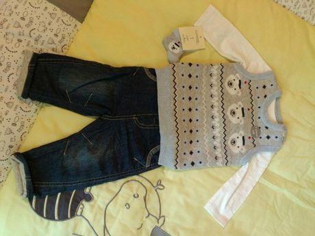 Зимни дрешки за момче 3-6 месеца
