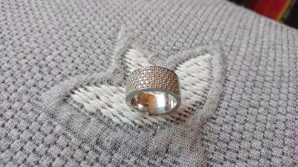 Ti sento пръстен сребро 925