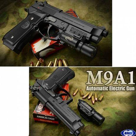 RARITATE! Pistol Airsoft TAURUS/Beretta /MODIFICAT 3.8 J Maxim/CO2 gaz