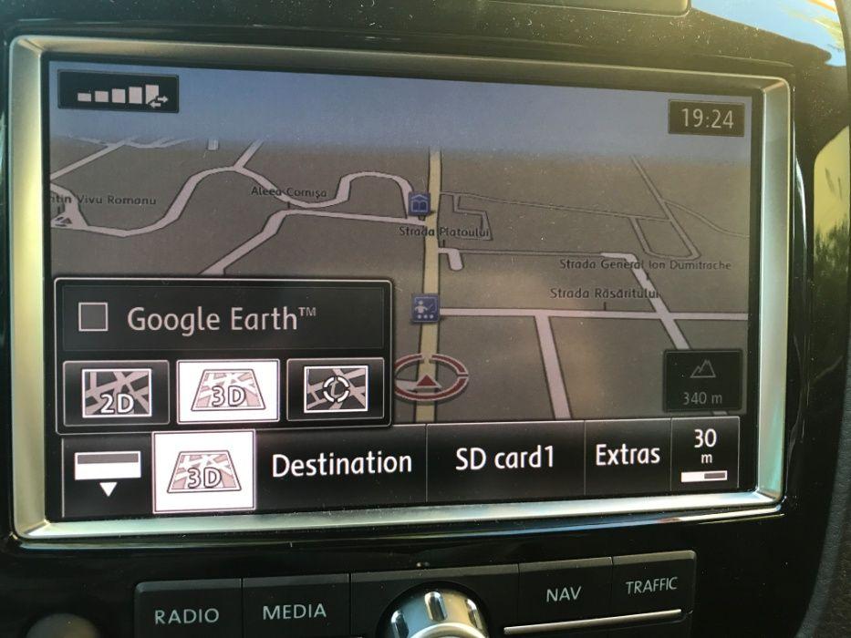 Harta navigatie VW TOUAREG RNS850 limba ROMANA