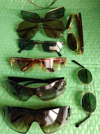 Ochelari de soare cu filtre de diferite culori