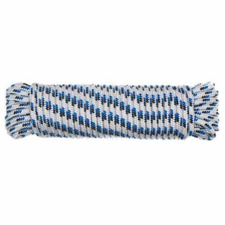 Шнур полипропиленовый плетеный, 8x20 мм.