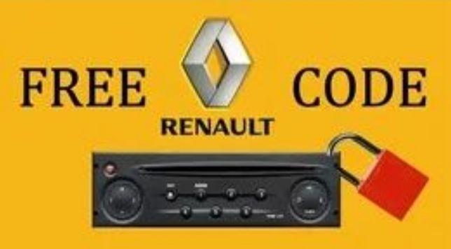 Aflare cod securitate radio Renault, Ford